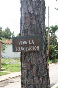 「革命万歳」「キューバ万歳」「フィデルとラウル万歳」といった体制賛美の看板をよく見かけた