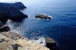 南紀白浜の太平洋を望む東海岸