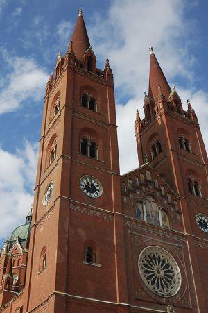 ジャコボの街にあるセントピータース大聖堂