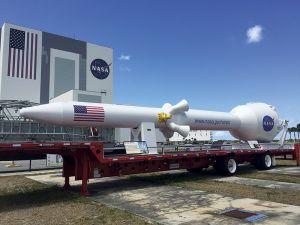 ケネディ宇宙センター敷地内の展示