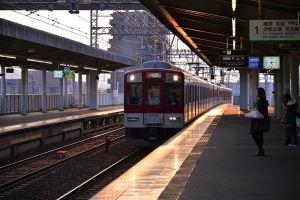 松阪へ向かう近鉄電車