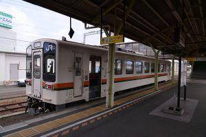 松坂駅にて
