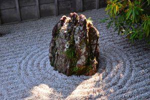 金剛峯寺の中庭