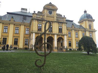 ナシチェにある、作曲家ドラ・ベヤチェヴィッチの屋敷