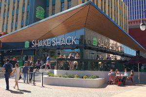 シェイク・シャックのアメリカ西部唯一の店