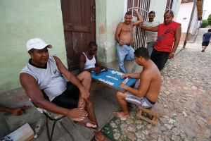 キューバでは子供から大人までボードゲームが人気