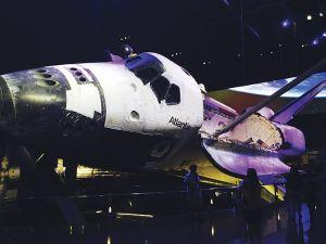 スペースシャトル「アトランティス」