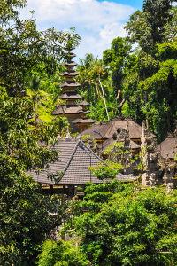 ウブド発祥の地、緑に囲まれたグヌン・ルバ寺院