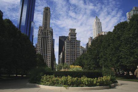 青空のシカゴ歩き