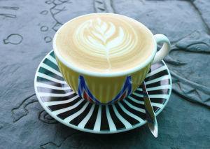 布農部落のカフェで飲むコーヒー
