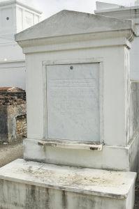 アメリカの歴史に名を残したホーマー・プレッシーの墓