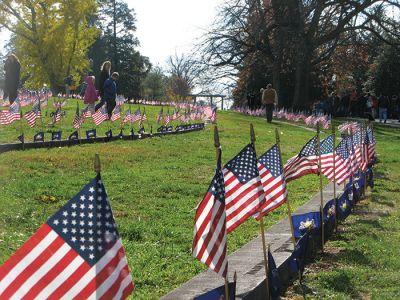 ゲティスバーグの国立墓地