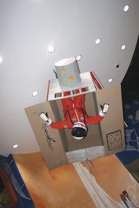 ケネディ宇宙センター内の展示