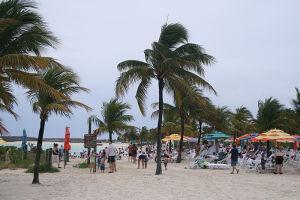 家族向けのビーチ