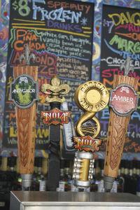 フレンチ・マーケットで飲む、ニューオーリンズの地ビール