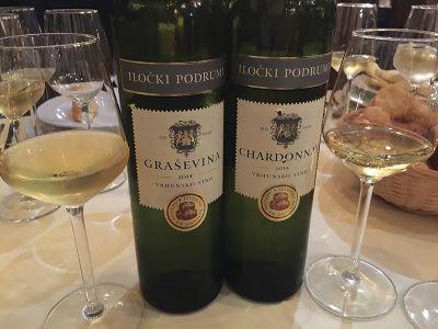 クロアチアの特産白ワイン「グラシェビナ」