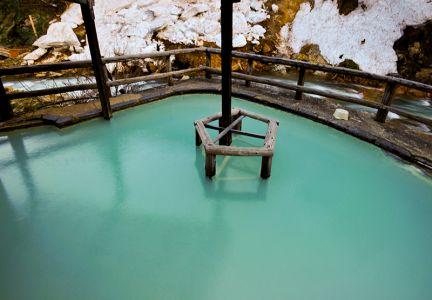松楓荘の露天風呂