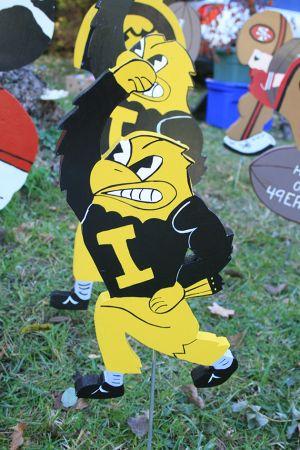 アイオワ大学のマスコット、ホークアイ