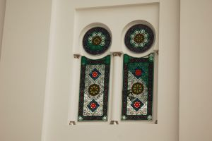 中東らしいモチーフがいっぱい、「バージュ・アル・アラブ」の内装
