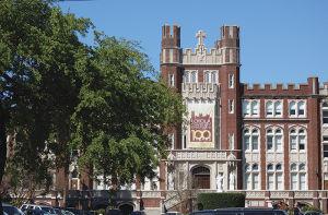 名門ロヨラ大学のキャンパス