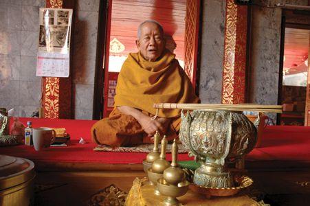 ステープ寺院の僧侶