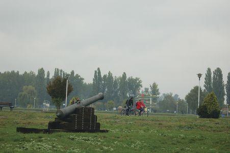 オシエックに残る要塞の跡