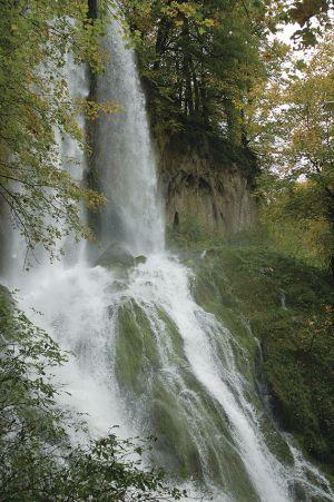 パプク国立自然公園の滝