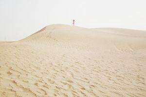 ドバイ東郊外にある、アル・アビール砂漠