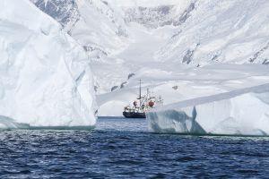 私たちの船、ポーラー・パイオニア号=4日目