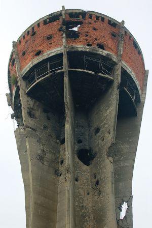 ブコバルの抵抗のシンボル、給水塔