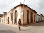 キューバ中部の古都、トリニダーの街角Photo © Yoshifumi Kawabata