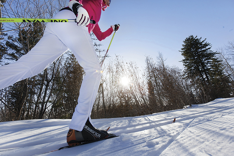 女性に人気急上昇のノルディック・スキー Morten Byskov / Silver Star Mountain Resort
