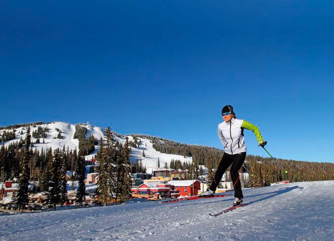 マイペースで、滑るように進む Silver Star Mountain Resort