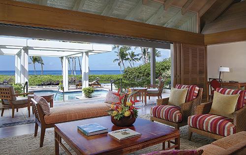 オーシャンフロント・バンガロー Courtesy of Mauna Lani Bay Hotel & Bungalows