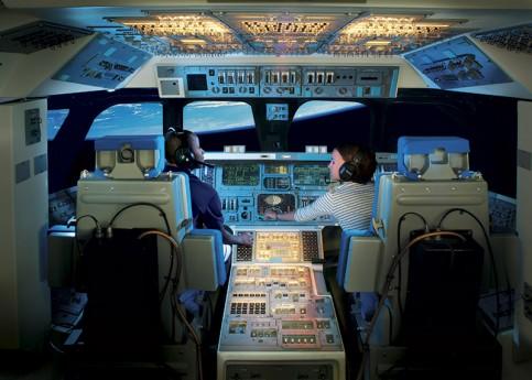 宇宙飛行士体験ができるツアーもある Photo: Kennedy Space Center