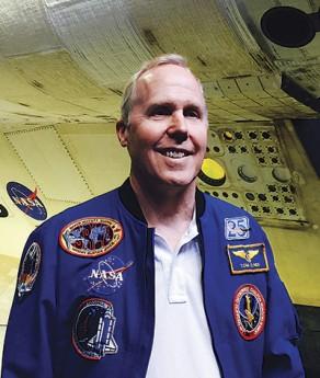 スペースシャトルでの飛行は4回。NASAのベテラン宇宙飛行士、トーマス・ジョーンズさん Photo © Mirei Sato
