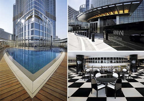 Photos: Courtesy of Armani Hotel Dubai