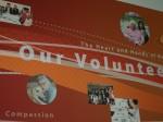 2011年6月、敬老の創立50周年を祝って完成した壁画。ボランティアへの感謝の気持ちが込められていた Photo © Mirei Sato