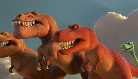 The Good Dinosaur © 2015 Disney•Pixar. All Rights Reserved