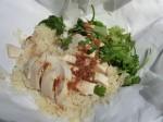 バンコクから単身アメリカへ。ノンさんが作るカオマンガイは母の味だそう Photo © Michiko Ono Amsden