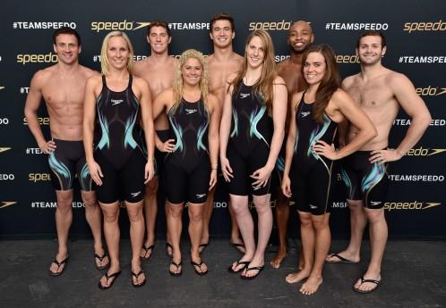 「TeamSpeedo」メンバー (Photo by Bryan Bedder/Getty Images for Speedo)