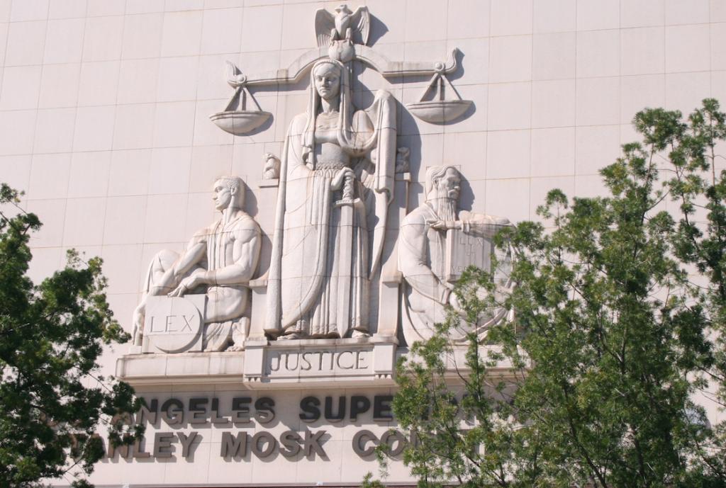 敬老の売却延期を求める反対派の訴えを退けた、ロサンゼルス郡上級裁判所 Photo © Mirei Sato