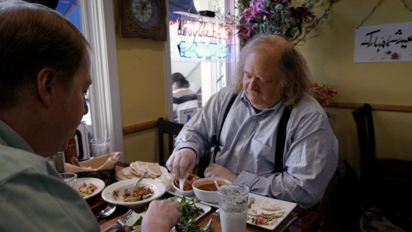 Jonathan Gold in Laura Gabbert's CITY OF GOLD.  Courtesy of Sundance Selects.  A Sundance Selects release.