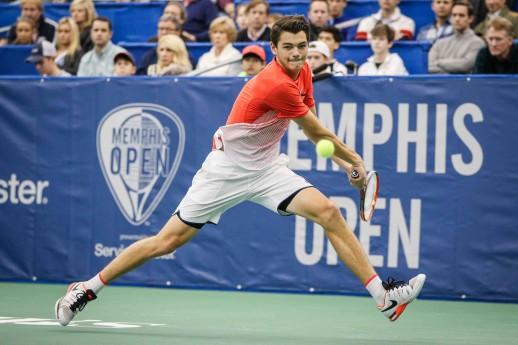 決勝で錦織圭と対戦することになった、テイラー・フリッツ PHOTO CREDIT – Alex Smith/Memphis Open