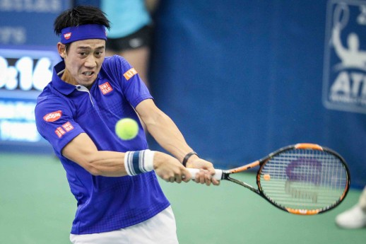 決勝進出を決めた錦織圭 PHOTO CREDIT – Alex Smith/Memphis Open