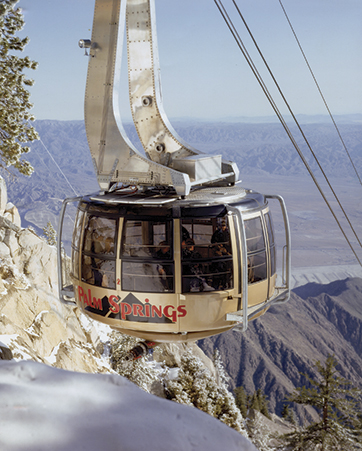 Photo provided by the Palm Springs Aerial Tramway