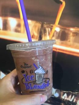 人気のドリンク「Mexican Chocolate Ice Blended」 Photo © Mirei Sato