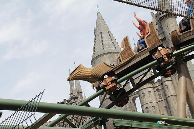 乗り物に弱くても大丈夫(?)『Flight of the Hippogriff』 © Kazuki Hirata / Hollywood News Wire Inc