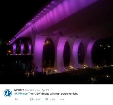 ミネソタ運輸局が流したツイッター
