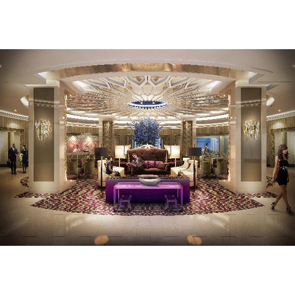 The Guest House at Graceland - Main Lobby Copyright: Elvis Presley Enterprises, Inc.